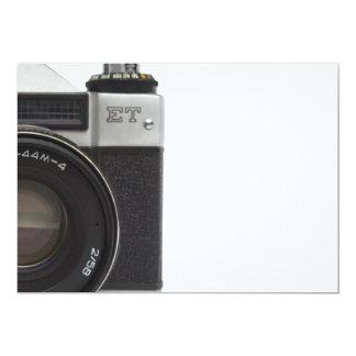 Old film camera card