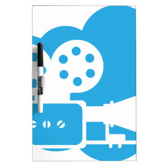 Old film camera Cloud Icon Vector Dry-Erase Board