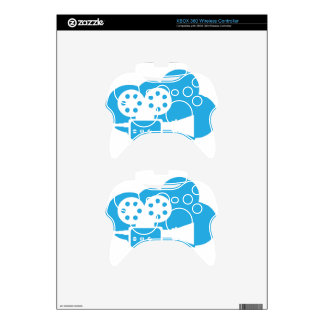 Old film camera Cloud Icon Vector Xbox 360 Controller Skins