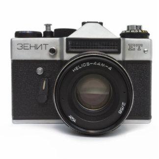 Old film camera cutout