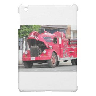old fire engine photo iPad mini cover