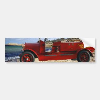 Old_Fire_Truck,_ Bumper Sticker