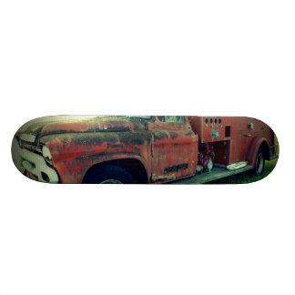 Old Fire Truck Skateboard Deck