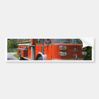 Old Firetruck Bumper Sticker
