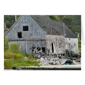 Old Fish Shed Card