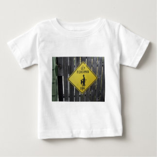 Old Fisherman Crossing Baby T-Shirt