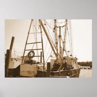 Old Fisherman Poster