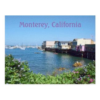 Old Fisherman's Wharf, Monterey, California Postcard