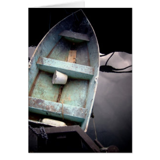 Old Fishing Boat Card