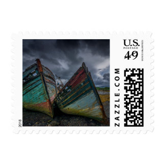 Old Fishing Boats Postage