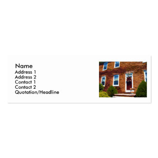 Old Flagstone House Double-Sided Mini Business Cards (Pack Of 20)