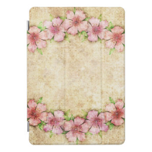 Old Floral Wallpaper IPad Pro Cover