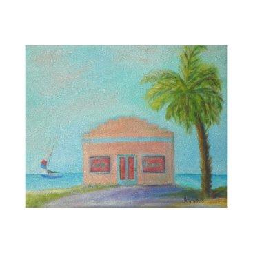 OLD FLORIDA BEACHES CANVAS PRINT