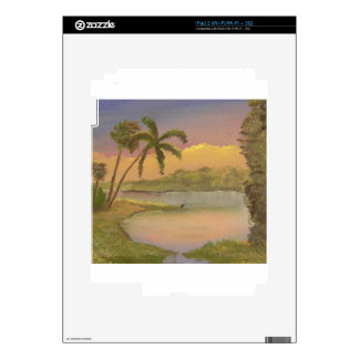 Old Florida Evening Decal For The iPad 2