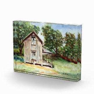 Old Florida Homestead Rustic Watercolor Painting Acrylic Award