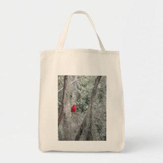 OLD FLORIDA RED CARDINAL Tote Bag