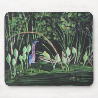 OLD FLORIDA WADING BIRD Mousepad