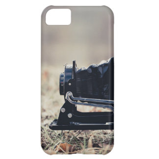 Old folding camera case for iPhone 5C