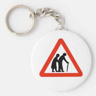 old folks key chain