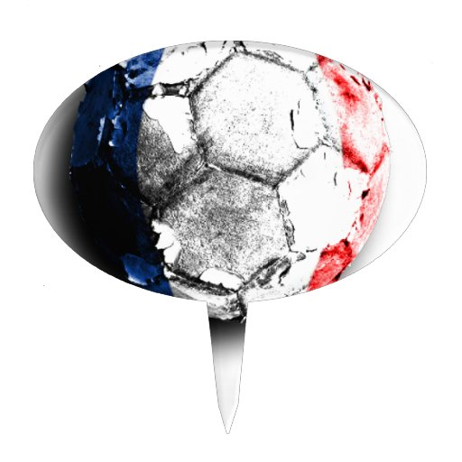 Old football (France) Cake Toppers