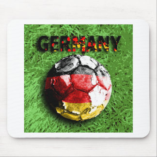 Old football (germany) mouse pad