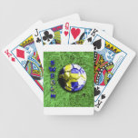 Old football  sweden bicycle poker cards