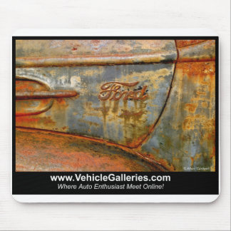 Old Ford Truck fender -VehicleGalleries.com mouse Mouse Pad
