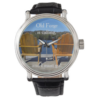 Old Forge is calling Wristwatch