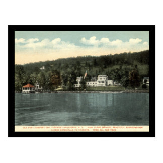 Old Fort Comfort Inn, Piermont-on-Hudson, NY Vinta Postcard
