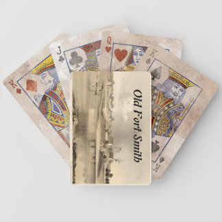 Old Fort Smith Bicycle Playing Cards