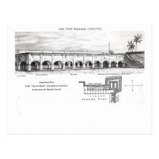 Old Fort William, Calcutta Postcard