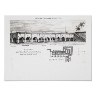 Old Fort William, Calcutta Poster