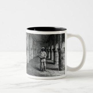 Old Fort William, Calcutta Two-Tone Coffee Mug