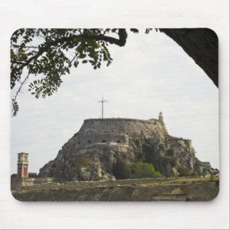 Old Fortress in Corfu Mouse Pad
