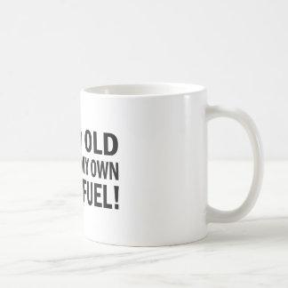 Old Fossil Fuel Coffee Mug