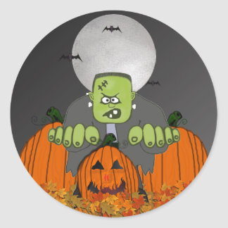 Old Frank Halloween Stickers