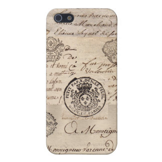 Old French Documents iPhone SE/5/5s Cover