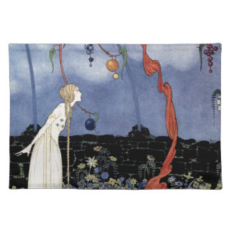 Old French Fairy Tales: A Tree of Marvelous Beauty Cloth Placemat