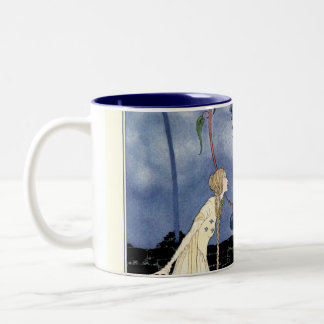 Old French Fairy Tales: A Tree of Marvelous Beauty Two-Tone Coffee Mug