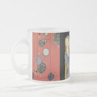 Old French Fairy Tales: Bonne-Biche 10 Oz Frosted Glass Coffee Mug