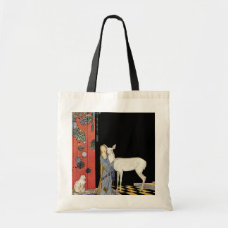 Old French Fairy Tales: Bonne-Biche Tote Bag