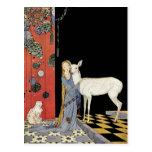 Old French Fairy Tales: Bonne-Biche Postcard
