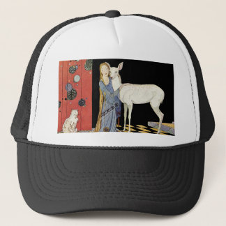 Old French Fairy Tales: Bonne-Biche Trucker Hat
