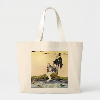 Old French Fairy Tales: In My Domain Canvas Bags