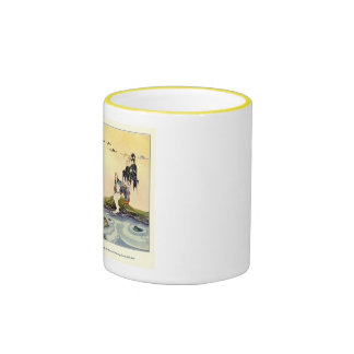 Old French Fairy Tales: In My Domain Ringer Coffee Mug