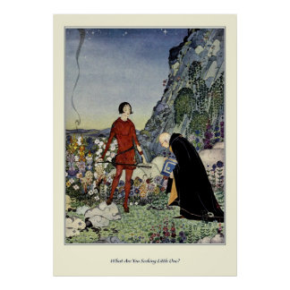 Old French Fairy Tales: What Are You Seeking Poster