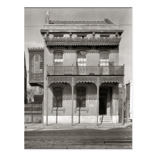 Old French Quarter House Postcard