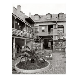 Old French Quarter Patio Postcard