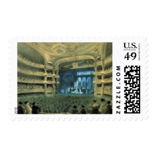 OLD FRENCH THEATRE, PELETIER THEATRE STAGE STAMP