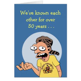 Old Friend's 60th Birthday Card